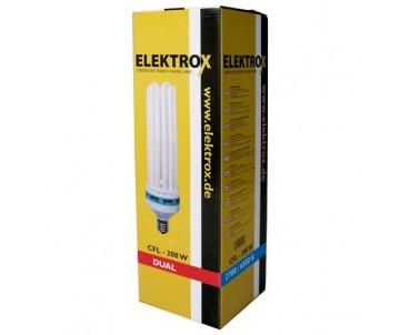 Energiesparlampe Elektrox 200W, Dual