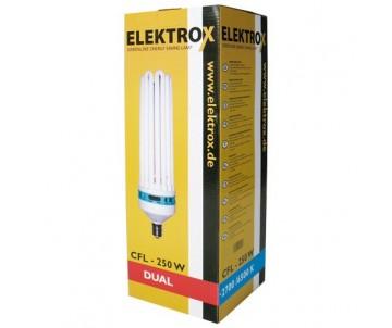Energiesparlampe Elektrox 250W, Dual