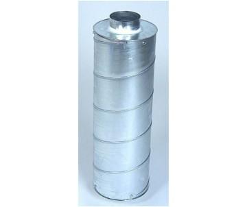 Schalldämpfer ø 100 mm, Länge 60 cm