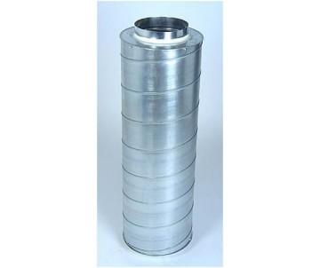 Schalldämpfer ø 160 mm, Länge 60 cm