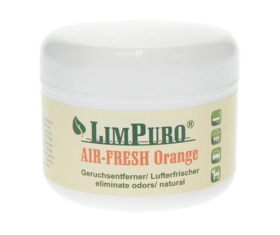 Limpuro Air Fresh Orange, 200g Dose für 25 m²