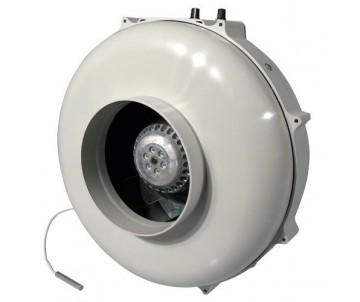 PK Rohrventilator 400 m³/h, 125/100 mm, Temperatursteuerung