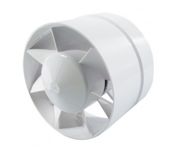 Axiallüfter, 100 mm, 105m³/h, gerader Anschlus
