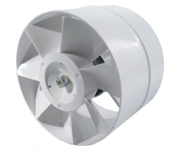 Axiallüfter, 150 mm, 298m³/h, Stufenanschluss