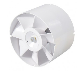 Axiallüfter, 150 mm, 298m³/h, gerader Anschluss