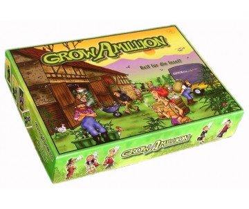 "Brettspiel ""Grow a Million"""