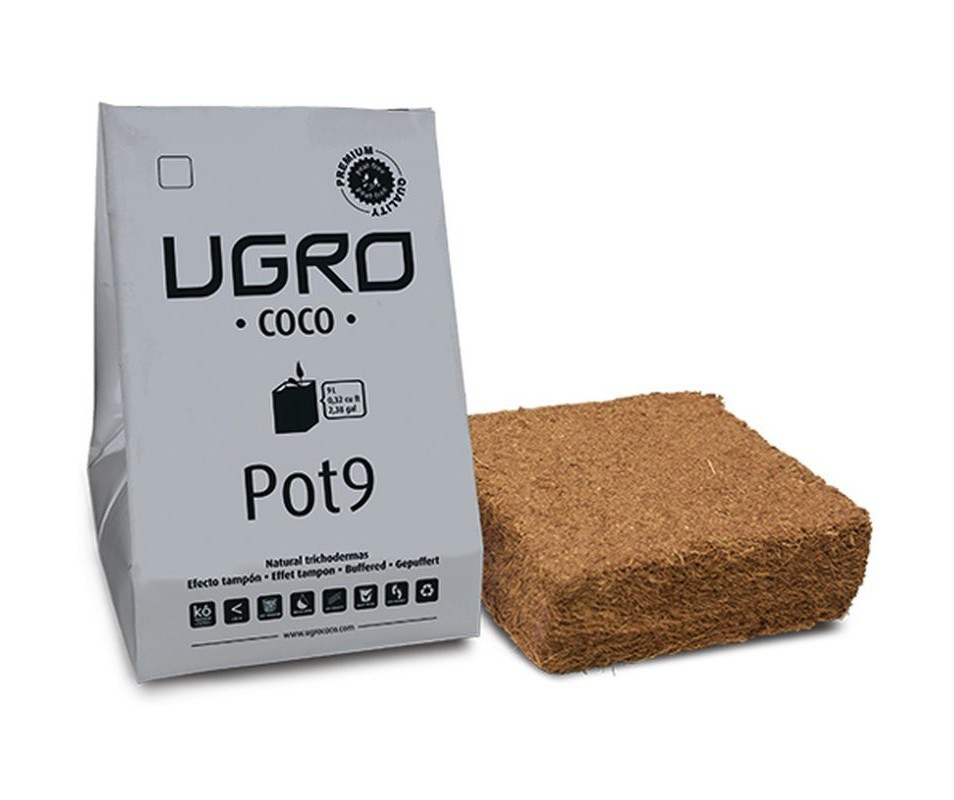Ugro Pot 9 Rhiza Kokos Substrat