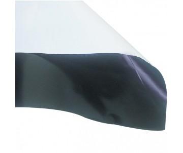 Schwarz-weiß Folie 1mx2mx0,07mm