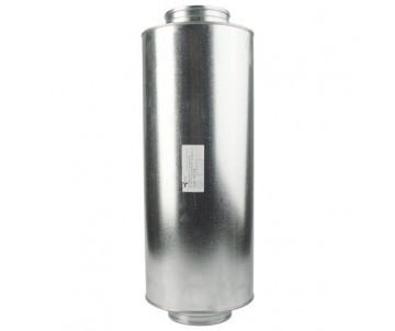 Schalldämpfer ø 125 mm, Länge 60 cm